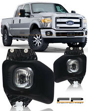 2011-2016 Ford F250 F350 F450 SuperDuty Model Clear Fog Lights Kit Complete Kit