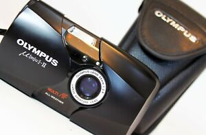 OLYMPUS MJU II Compact film Camera 35mm f2.8 Lens WORKING EXCELLENT CONDITION