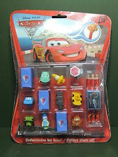 Blister 12 mini Figurine Figure Disney Pixar CARS Toppers Embout crayon FunBeeZ