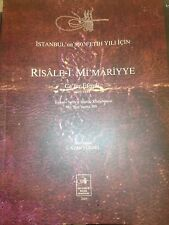 OTTOMAN ARCHITECTURE Risale-i Mimariyye Cafer Efendi Facsimile