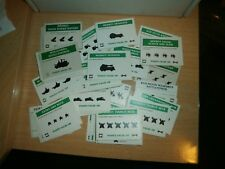Games Workshop 6mm Epic 40K  ORK ARMY CARDS LOT HUGE