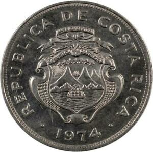 COSTA RICA - 25 CENTIMOS - 1974