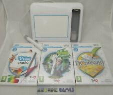 LOT TABLETTE U DRAW Wii + 3 JEUX PICTIONNARY U DRAW STUDIO (vendeur pro)