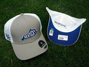 UNIVERSITY OF KENTUCKY NCAA GRAY MESH SNAPBACK ADJUSTABLE WILDCATS HAT CAP NEW