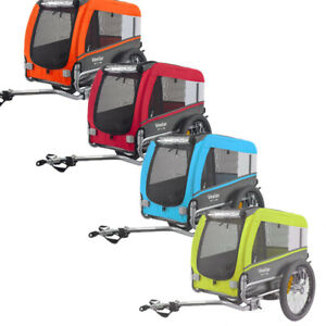 Veelar Sports Foldable Pet Bike Trailer For Small,Medium,Large Dogs Up to 88 Lbs