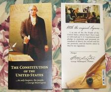 Pocket Constitution w/ Amendments. Declaration of Independence & Bill of Rights