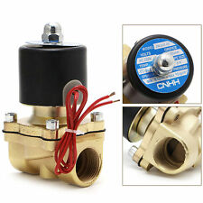 """3/4"""" Electric Solenoid Valve AC 220V Pneumatic 2Port Water Oil Air Gas 2W-200-20"""