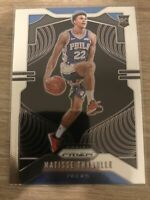 2019-20 Panini Prizm Base Matisse Thybulle #290 RC Rookie Philadelphia 76ers
