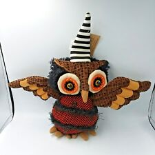 Halloween Owl Witch Animated Motion Sensor Hanna S Hanworks Z228