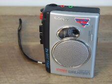 Sony Walkman TCS-30D 2x Record Time Standard Cassette Recorder Pressman