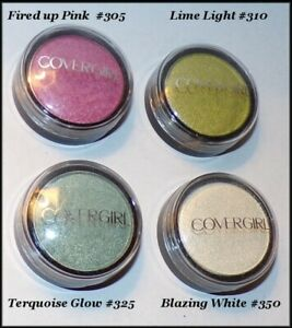 NEW CoverGirl Flamed Out Shadow Pot Eye Shadow #305 #350 #310 #325     FREE GIFT