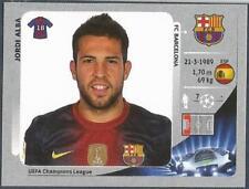 PANINI UEFA CHAMPIONS LEAGUE 2012-13- #448-BARCELONA-JORDI ALBA
