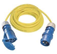CEE Verlängerung gelb, 25m Kabel für 230V, 16A, 3x2,5mm²  Kälteflexibel Art.106