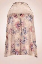 M&S Rosie for AutographFloral Printed Pyjama Top & Bottoms Size 8