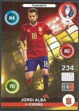 PANINI EURO 2016 ADRENALYN XL CARD- #105-ESPANA-SPAIN-JORDI ALBA