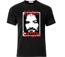 Charles Manson Helter Skelter T Shirt Black