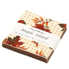Moda Fabric-Maple Island By Holly Taylor-Charm Pack