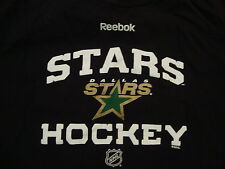 NHL Dallas Stars Professional Hockey Fan Reebok Black T Shirt M