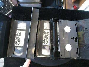 Magic Circus VHS Mark Wilson 3 Videos
