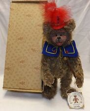 Gund Barton's Creek Collection Whimsical Drum Major Bear Cecil #70015 LE of 6000