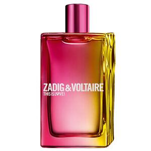Zadig & Voltaire THIS IS LOVE Eau de Parfum 100ml *** GENUINE ***