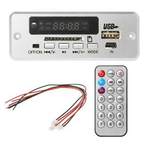 Wireless MP3 Player Decoder Board Audio Module USB Radio With Remote Control