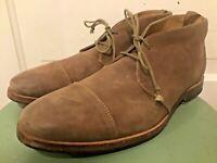 "Men's J. shoes Sacchetto Construction "" Torre""  Suede Chukka Ankle Boots Sz 11.5"