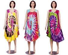 Apparels India 10pcs Wholesale Lot Dresses Tie Dye Print Casual Wear Sundress