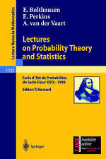 NEW Lectures on Probability Theory and Statistics by Erwin Bolthausen