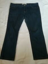 JEANSWEST Ladies Blue Mid Rise Skinny Jeans Size 13 Short ( Not super skinny ) .