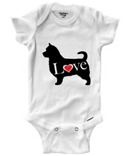 Australian Terrier Dog Pet Infant Baby Gerber Onesies Bodysuit One-Pieces Outfit