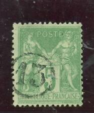 Frankreich, Allegorie Mi.-Nr 84 (Ceres 102), Chiffres dans un Cercle