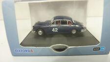 Oxford 1:76 Jaguar MK 2 Nr. 42 blau in OVP (A524)
