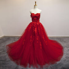 2016 New Red Wedding Dresses Bridal Gown Quinceanera Pageant Formal Prom dresses