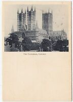 LINCOLN - The Cathedral - early 1900s era postcard - undivided back