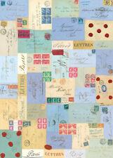 """Cavallini & Co.Vintage Paris Letters  20"""" X 28"""" Decorative Paper / Poster / Wrap"""