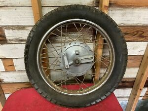 Ducati 250 350 Narrow Case Rear Wheel Hub Brake Plate  Radaelli  Sebring