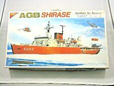 Nichimo – Japanese Agb Shirase Auxiliary Ice Breaker Model Kit - #U-4501 - 1:450