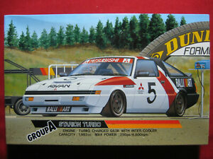 1985 Mitsubishi Starion Turbo Group A Racing Advan Ralli Art 1/24 Fujimi Kit