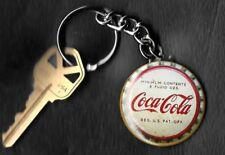 Coca-Cola Vintage Bottle Cap 6 ozs. Keychain Key Chain