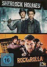 SHERLOCK HOLMES (Robert Downey Jr.) + ROCK'N'ROLLA (Gerard Butler) 2 DVDs NEU