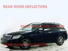 Wind deflectors for Mercedes C-Klasse W203 2000-2007 Sedan Saloon 4doors rear