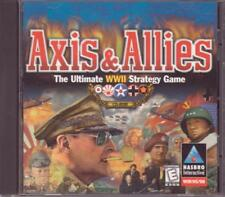 PC CD-ROM Game:  AXIS & ALLIES - Ultimate WWII Strategy Game 1998 Windows 95 98