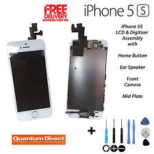 BLANC RETINA LCD et Numériseur Écran tactile Assemblage Avec Pièces pour iPhone