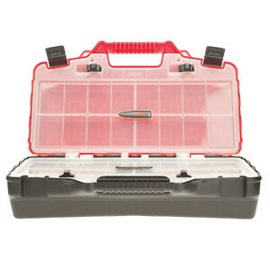 SCREW BOX MULTI SECTION CARRY CASE, TOOL BOX, FISHING SAILING PARTS STORAGE BOX