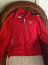 Ferrari scuderia Ferrari puma red track jacket new  With  Tags size XL men