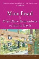 Miss Clare Remembers and Emily Davis by Miss Read (2007, Paperback)