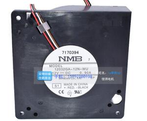 1pcs  NMB 12032GA-12N-WU DC12V 0.90A 12CM centrifugal turbo fan