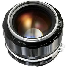 NEW Voigtlander Nokton 58mm f/1.4 SL II S Lens Silver for Nikon Mount BA243J