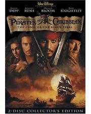 Pirates of the Caribbean PART 1 Curse Black Pearl DVD DISNEY MOVIE 2-Disc Set